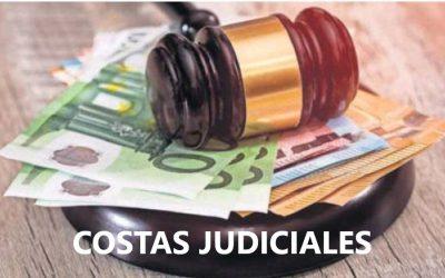 LAS COSTAS JUDICIALES SON SIEMPRE DEL CLIENTE…SALVO EN PACTO CONTRARIO